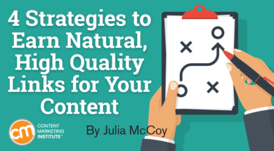 4 Strategies to Earn High Quality Links for Your Content