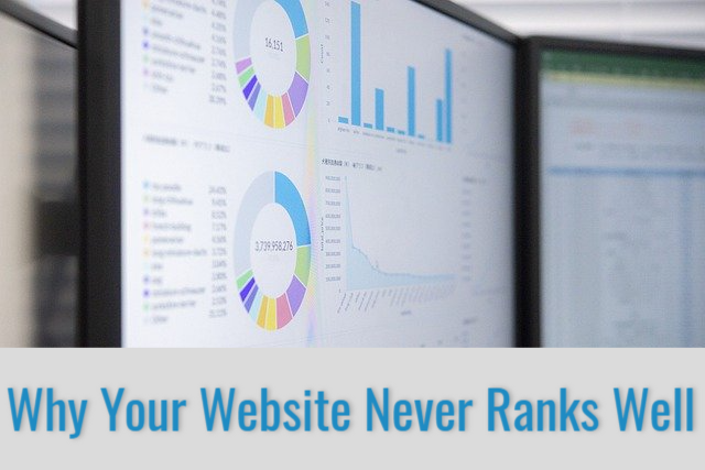 Why Your Website Never Ranks Well